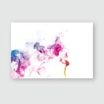 Stream Smoke On White Black Background Poster, Pillow Case, Tumbler, Sticker, Ornament