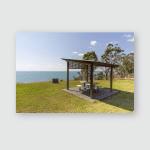 Sub Tropical Ocean Views Pt Vernonhervey Poster, Pillow Case, Tumbler, Sticker, Ornament