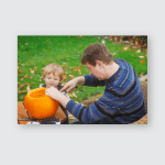 Young Man Little Toddler Boy Having Poster, Pillow Case, Tumbler, Sticker, Ornament