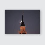 Sun Behind Mosquemonitor Sunrise Show Light Poster, Pillow Case, Tumbler, Sticker, Ornament