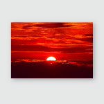 Sunrise Khong Chiam Ubon Ratchathani Locates Poster, Pillow Case, Tumbler, Sticker, Ornament