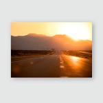 Sunrise Nevada Ca Poster, Pillow Case, Tumbler, Sticker, Ornament