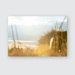 Sunset Hey Summer Field Farm Poster, Pillow Case, Tumbler, Sticker, Ornament
