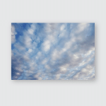 Sunset Sunrise Many Tiny Cloud Light Poster, Pillow Case, Tumbler, Sticker, Ornament