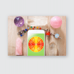 Zodiac Signs Smart Phone Crystal Balls Poster, Pillow Case, Tumbler, Sticker, Ornament