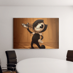 Inspired Bendy And The Ink Machine 3 - Gaming Canvas Wall Decor 2