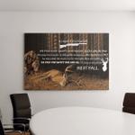 Hunters Prayer Deer Hunt Wildlife - Hunting Canvas Art Wall Decor