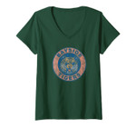 Womens Saved By The Bell Bayside Tigers Baja V-Neck T-Shirt