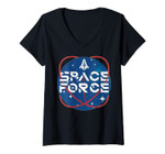 Womens United States Space Force V-Neck T-Shirt