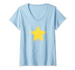 Womens Steven Universe Star V-Neck T-Shirt