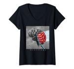 Womens Neurology Neurologist V-Neck T-Shirt