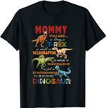 Kids Mommy You Are My Favorite Dinosaur Mother's Day T-Shirt