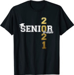 Class of 2021 Senior Graduate High School Student Graduation T-Shirt