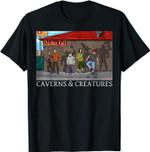 Chicken Hut Caverns & Creatures T-Shirt