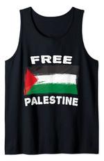 Free Palestine Flag I love Palestine Gaza Palestinian Flag Tank Top