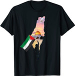 Free Palestine Map Flag Jerusalem's City Support Gaza Shirt T-Shirt
