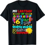 Last School Day Kindergarten Summer Gift T-Shirt