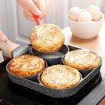 💥 Four Hole Frying Pan