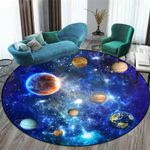GALILEO 3D BLUE SOLAR SYSTEM CARPET