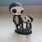Sugar Skull Couple Figurine