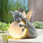 MystiCalls Garden Dragon Meditated Statue Collecting