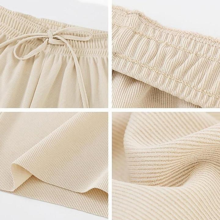 Ice Silk Wide Leg Women's Pants