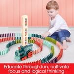 Domino Train Blocks Set Building And Stacking Toy 🔥 HOT DEAL - 50% OFF 🔥