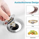 Universal Basin Pop-up Drain Filter Metal Bounce Core Push-Type 🔥AUTUMN SALE 50% OFF🔥