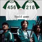 Squid game T-shirt shorts 🔥AUTUMN SALE 50% OFF🔥