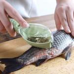 ✅ Fish Skin Scraping Scale Peeler