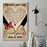 The Day I Met You Vertical Poster