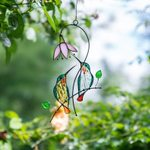 Hummingbird Stained Glass Window Hangings🔥(Free Shipping)