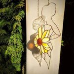 Stained Glass New Life Pregnancy Gift
