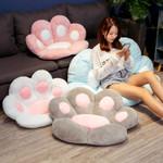 Pawprint Pillow Seat Cushion