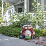 """""""Welcome"""" Gnome Statue"""