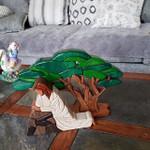 Nativity Scene With Olive Tree - 17 Pcs Set