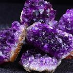 Raw Amethyst Crystal Cluster