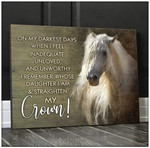 Canvas - Horse - Crown
