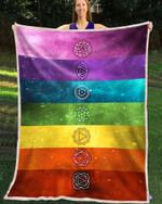 Blanket - Hippie - 7 Chakras