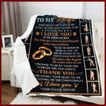 Blanket - Police - To My Wife - Thank You