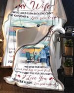 I Wish I Could Husband To Wife Beach Blanket