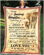 Blanket - Elephant - Daughter (Mom) - Love You For The Rest Of Mine