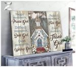 Church - Canvas - Every Moment, Thank God