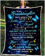 Blanket - Butterfly - Granddaughter (Grandpa) - Once Upon A Time