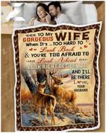 Blanket - Deer - To My Wife - Look Right Beside You Ver2