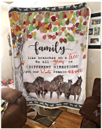 Blanket - Horse - Family