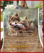 Blanket - Wolf - To My Husband - God Blessed The Broken Road Ver1