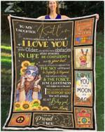 Blanket - Hippie - To My Daughter Kaitlin