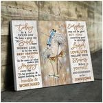Teemodel To Be Awesome Dragonfly Wall Art Canvas