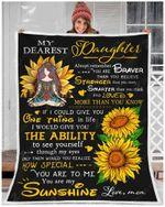 Blanket - Hippie - My Dearest Daughter - You Are My Sunshine